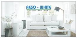 Reso White Wall Finish
